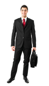 Businessman With Briefcase PNG PNG Clip art