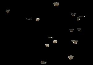 Butterflies Swarm PNG Clip art