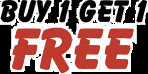 Buy 1 Get 1 Free Download PNG Image PNG Clip art