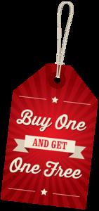 Buy 1 Get 1 Free PNG File PNG Clip art