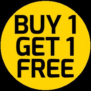 Buy 1 Get 1 Free PNG HD PNG Clip art