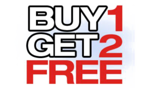 Buy 1 Get 1 Free PNG Photo PNG Clip art
