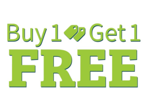 Buy 1 Get 1 Free PNG Photos PNG Clip art