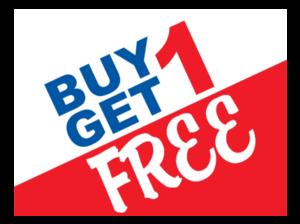 Buy 1 Get 1 Free PNG Pic PNG Clip art