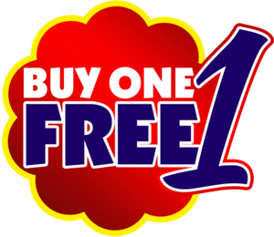 Buy 1 Get 1 Free PNG Picture PNG Clip art