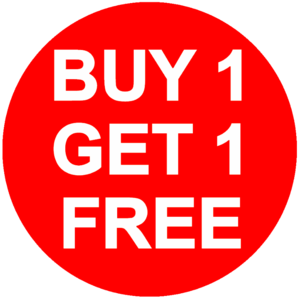 Buy 1 Get 1 Free PNG Transparent HD Photo PNG Clip art