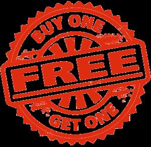 Buy 1 Get 1 Free Transparent Images PNG PNG Clip art