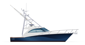 Cabo Yachts Boat PNG PNG Clip art