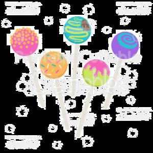 Cake Pop PNG Free Download PNG Clip art