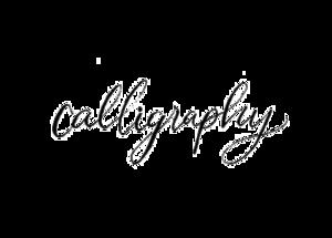 Calligraphy Transparent PNG PNG Clip art