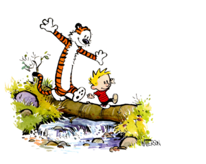 Calvin And Hobbes PNG Image PNG Clip art