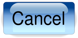 Cancel Button PNG HD PNG Clip art
