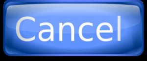 Cancel Button Transparent Background PNG Clip art