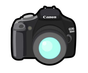 Canon Camera Cartoon PNG PNG Clip art