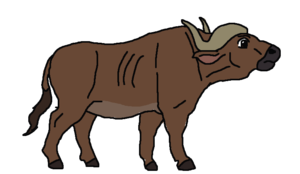 Cape Buffalo PNG Pic PNG Clip art