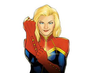 Captain Marvel PNG File PNG Clip art