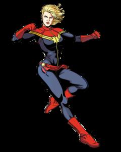 Captain Marvel PNG Pic PNG Clip art