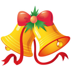 Cartoon Christmas Bells PNG PNG Clip art