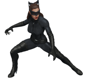 Catwoman PNG Transparent Background PNG Clip art