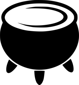 Cauldron Transparent Background PNG clipart