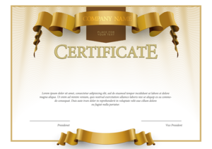 Certificate PNG Picture PNG Clip art