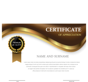 Certificate PNG Transparent PNG clipart