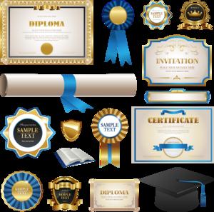 Certificate Transparent Background PNG Clip art