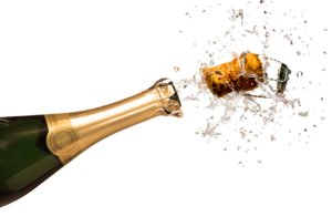 Champagne Popping PNG Clipart PNG Clip art