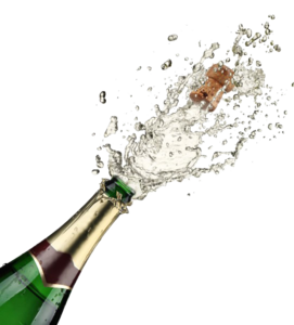 Champagne Popping PNG Free Download PNG Clip art