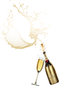 Champagne Popping PNG HD PNG Clip art