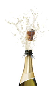 Champagne Popping PNG Picture PNG Clip art