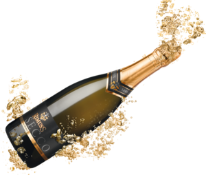 Champagne Popping Transparent Background PNG Clip art