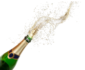 Champagne Popping Transparent PNG PNG Clip art
