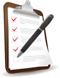 Checklist Background PNG PNG Clip art