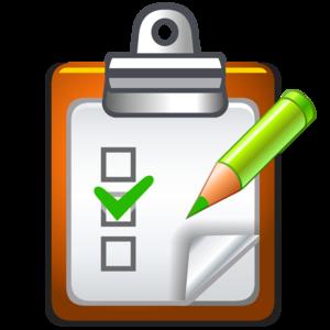 Checklist PNG Transparent PNG Clip art