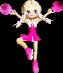 Cheerleader PNG File PNG Clip art