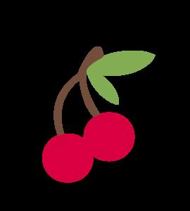 Cherry Vector Transparent Background PNG Clip art