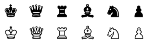 Chess Transparent PNG PNG icons