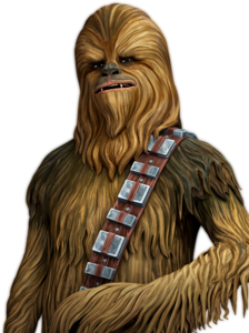 Chewbacca Transparent Background PNG icon