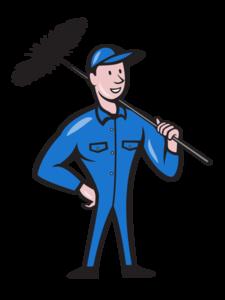 Chimney Sweep Transparent Background PNG Clip art
