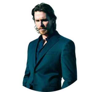 Christian Bale PNG File PNG icon