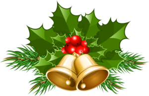 Christmas Bell Background PNG PNG Clip art