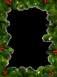 Christmas Border PNG Photo PNG Clip art