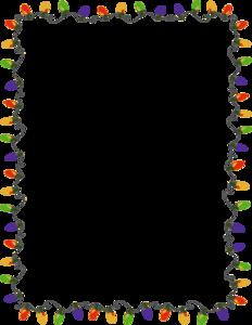 Christmas Border PNG Transparent Image PNG Clip art