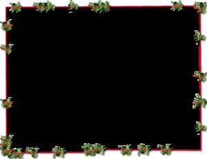 Christmas Border PNG Transparent Picture PNG Clip art