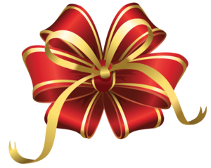 Christmas Bow PNG File PNG Clip art