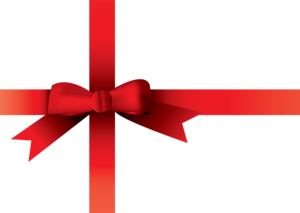 Christmas Bow Transparent Background PNG Clip art