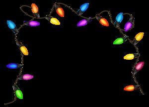 Christmas Decoration Lights PNG HD PNG Clip art