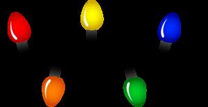 Christmas Decoration Lights PNG Image PNG Clip art