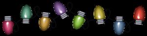 Christmas Decoration Lights PNG Transparent Picture PNG Clip art